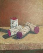 Corks Originals - Wine Country Corks by Ellen Minter