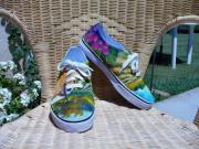 Wine Tapestries - Textiles - Wine Country Shoes by Diana Liebe