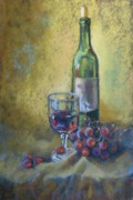 Donna Shortt Prints - Wine etc. Print by Donna Shortt