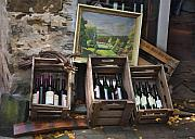 Box Wine Prints - Wine for Sale Print by Sharon Foster