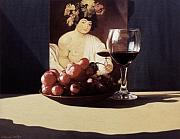 Daniel Montoya - Wine Glass and Bowl of...