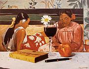 Daniel Montoya - Wine Glass and Gauguin