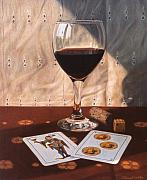 Daniel Montoya - Wine Glass and Playing...