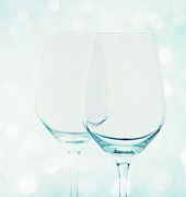 Wine-glass Posters - Wine glass Poster by Kristin Kreet