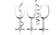 Dishware Posters - Wine glasses Poster by Blink Images