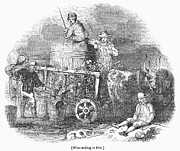 Winemaking Photos - WINE HARVEST, 1830s by Granger