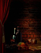 Eatery Digital Art - Wine Lifestyle by Lourry Legarde