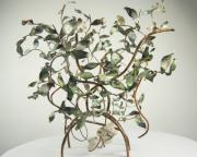 Wine Holder Art - Wine Q Tree by Quique Matos
