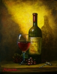 Photo Espresso Originals - Wine Shadow Ombra Di Vino by ITALIAN ART- Angelica