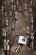Stopper Photo Metal Prints - Wine Stopper Storm Metal Print by Tom Mc Nemar