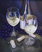 Patti Trostle - Wine Theme Print Wall...