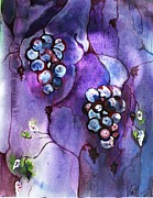 Grape Vineyard Originals - Wine Time by Pat Purdy