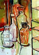 Wine Vinegar Print by Mindy Newman