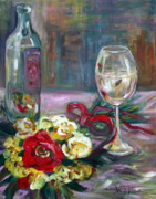 Chardonnay Originals - Wine with a nice Bouquet by Annette Dion McGowan