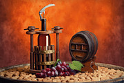 Wine Cellar Photo Originals - Winepress and winemake by Baranov Viacheslav