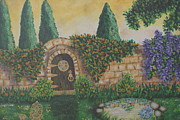 William Ohanlan - Winery Garden