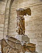 Winged Victory Of Samothrace Prints - Winged Victory Print by Jon Berghoff