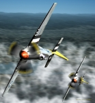 Purchase Digital Art Posters - Wingman Poster by Jim Coe