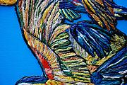 Macaw Mixed Media - Wings 2 by Irum Iftikhar