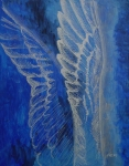 Jindra Noewi Prints - Wings of Angel Print by Jindra Noewi