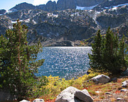 Pond In Park Prints - Winnemucca Lake 2 Print by Lydia Warner Miller