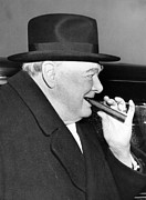 Osrs Prints - Winston Churchill, 1953 Print by Everett