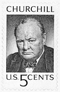 Artefact Framed Prints - Winston Churchill Framed Print by Granger