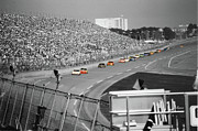Daytona 500 Photos - Winston Cup Racing In Daytona 1995 by John Black