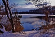 Mikki Cucuzzo Metal Prints - Winter at Twin Lakes Metal Print by Mikki Cucuzzo