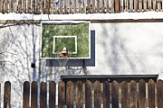 Basketball Abstract Photos - Winter Basketball by Aleksandr Volkov