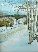 Lynn Babineau - Winter Birch