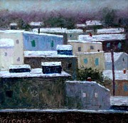 Winter Day In The City Print by Bob Richey