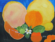 Winter Fruit Print by Sandy McIntire