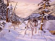 Richard De Wolfe - Winter Hunt