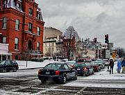 Winter Roads Photo Prints - Winter In D.C. Print by Jimmy Ostgard