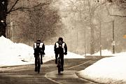 Riding Originals - Winter in High Park by Cabral Stock