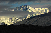 Snow Photo Prints - Winter In The Rockies Print by Bob Christopher