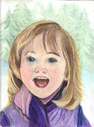 Smile Pastels - Winter Joy by Carol Wisniewski