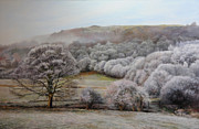 Harry Robertson Prints - Winter Landscape Print by Harry Robertson