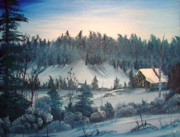 Winter Meadow Print by Kalib Anglin