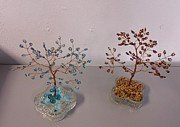 Autumn Sculptures - Winter Oak and Autumn Oak by Hartz