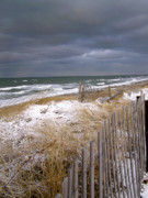 Winter Storm Photos - Winter on Cape Cod by Charles Harden