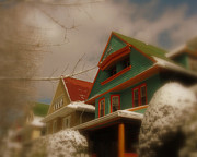 Winter Storm Prints - Winter on Rugby Road Print by Mark Gilman