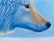Coyote Paintings - Winter Passage by Brian  Commerford