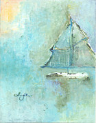 Camille  Ellington - Winter Sailboat