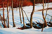 All Landscape Posters - Winter Shadows Poster by Dale Ziegler