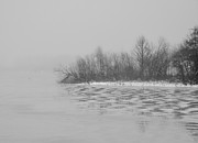 Winter Shore Print by Odd Jeppesen