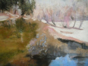 Yosemite Pastels - Winter Showoff by Anita Stoll