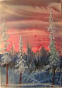 Atc Originals - Winter Sky by John Vandebrooke