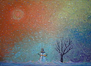 Lonesome Posters - Winter Solitude 9 Poster by Jacqueline Athmann